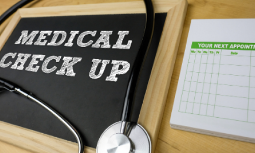 How often does the health check take?