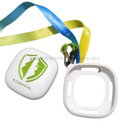 Ecoheal ARCII - Portable Air Purifier Casing/Holder Tag (Ecoheal Bumper Case & Lanyard) - GREEN