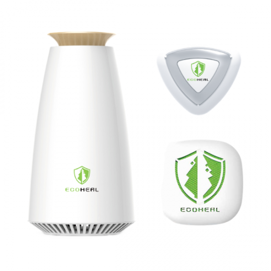 Ecoheal Air Purifier 3 in 1 Combo Set
