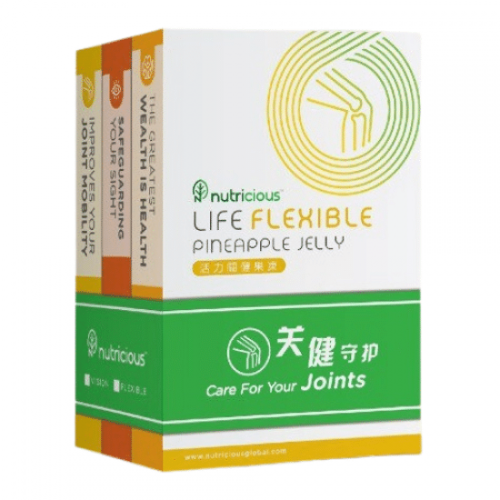 Life Flexible Pineapple Jelly 【30 sachets x 15g /box】