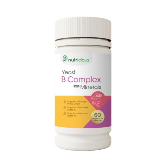 Yeast Vitamin B Complex with Minerals